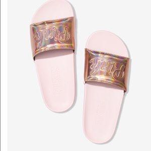 Pink slides size 9-10